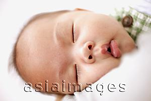 Asia Images Group - Close-up of sleeping baby