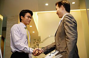 AsiaPix - Businessmen shaking hands