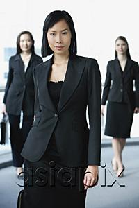 AsiaPix - Businesswomen facing camera